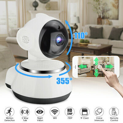 HD Wireless Wifi IP Camera 1080P Webcam Baby Pet Monitor Cam Pan Remote Control