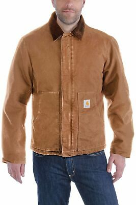 CARHARTT JACKE SANDSTONE Traditional Coat Brown EUR 105,86