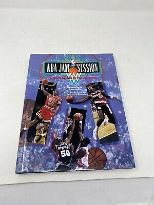 Vintage NBA Jam Session Book History Of The Slam Dunk Jordan Magic Bird DR J