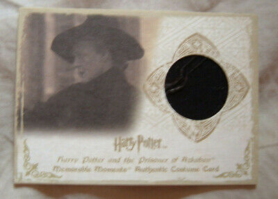 Harry Potter Memorable Moments costume card C5 Maggie Smith 134/360 McGonagall