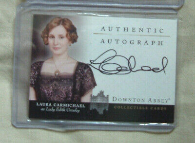 Downton Abbey Laura Carmichael Autograph Card A2