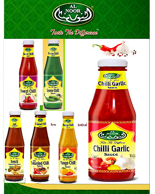 HOT N SPICY SWEET GREEN CHILLI SAUCE GARLIC IMLI AUTHENTIC DIPPING SAUCE 330g
