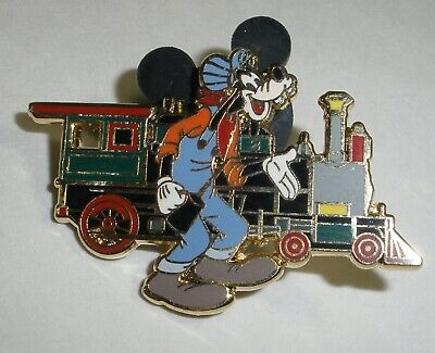 DLR - Disneyland Railroad - Goofy with E.P. Ripley Only Disney Pin 68112