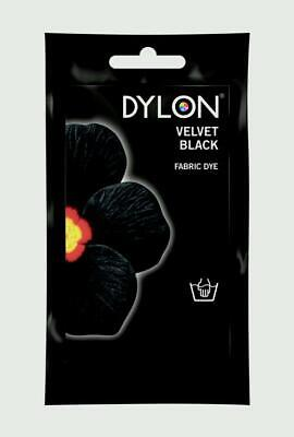 Dylon Hand Dye Sachets 50g For Clothes and Fabrics Various Colours