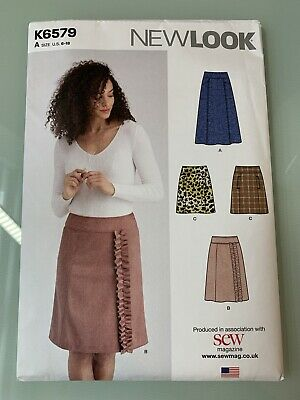 NEW LOOK K6532 SEWING PATTERNS 16 PIECES Sizes A US 8-18