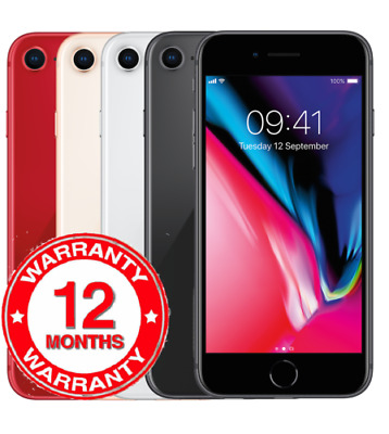 Apple iPhone 8 - 64GB - Gold/Silver/Red/Black - UNLOCKED - Grade A,Japan