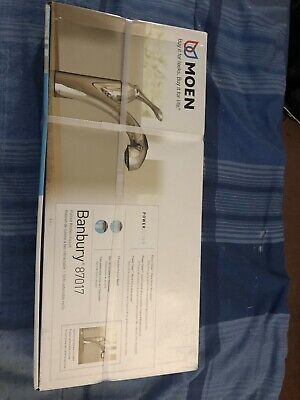 Moen Banbury Pull Out Spray Kitchen Faucet Stainless Steel Pn 87017srs 139 99 Picclick
