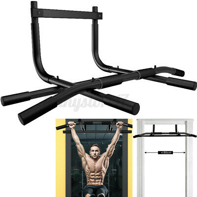 Doorway Pull Up Bar Chin Up Sit-Up Strength Body Workout Exercise Fitness Gym  D