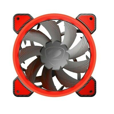 4x cougar red ring computer fan