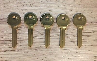 UNION HIGH SECURITY UNI32 /& UNI32R PASS SECTION KEY BLANKS FOR 901-914 /& 574-589