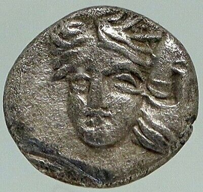 ISTROS in THRACE Authentic Ancient 400BC Rare Silver OBOL GREEK Coin NGC i84947