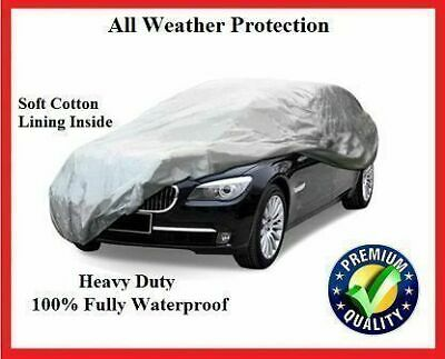 SAAB 9-3 93 Convertible 03-11 FULLY WATERPROOF CAR COVER COTTON LINED LUXURY