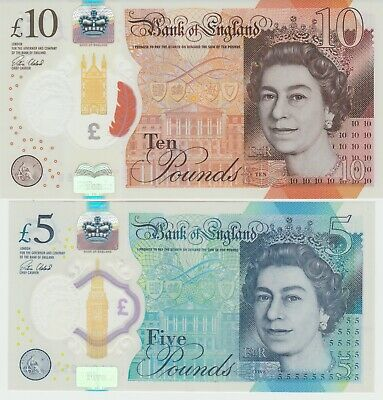 £5 And £10 Note Low Serial Numbers