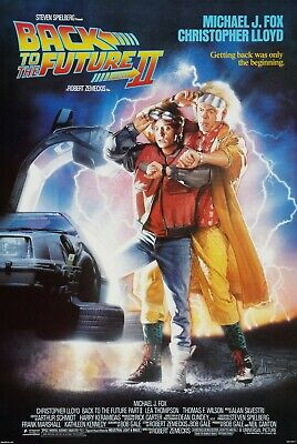 Back To The Future Ii (1989) Original Movie Poster  -  Rolled
