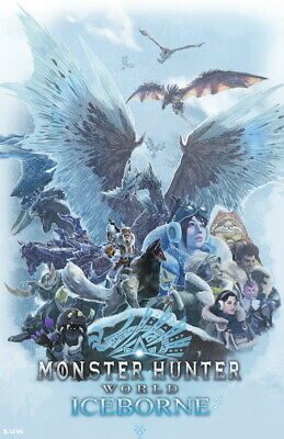 """059 Monster Hunter - Moster Fight TV Game 14""""x21"""" Poster"""