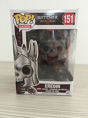 151 Eredin Funko POP Animation The Witcher Action Figure Excellent Boxed