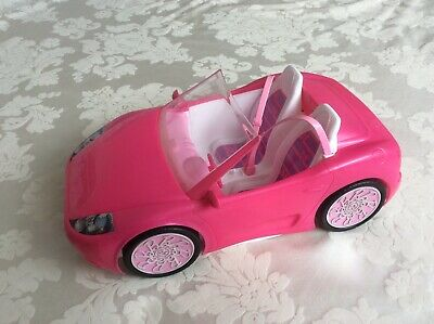 Mattel Barbie Glam 2 Seater Convertible Car Doll Vehicle missing one light