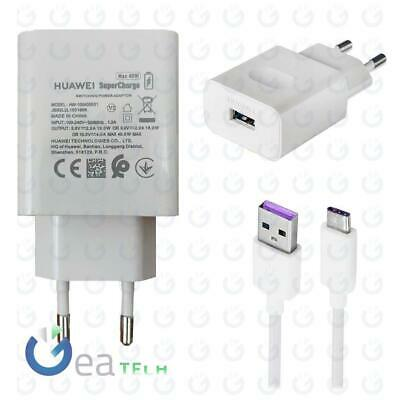 Huawei Caricabatterie CP84 Super Charge Type C Mate 20 P20