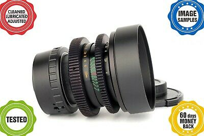 HELIOS 44-2 2/58mm Belomo type5 *TUNED FOR FILMMAKERS!*MINT!*Your camera mount*