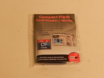 Digital Concepts Compact Flash Card Reader/Writer Cd #10  New !