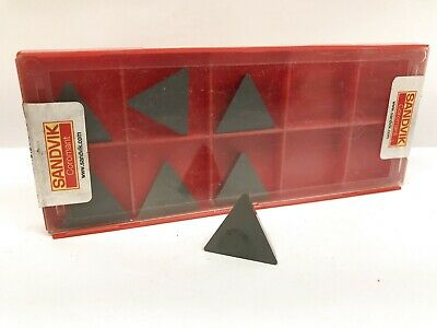 TPG 432 Mk2 C2 Uncoated Carbide Inserts TPGN 220408 10pcs New World Products