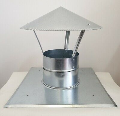 Chimney cap kit, Chimney top plate kit, Chimney cover Ø 150mm