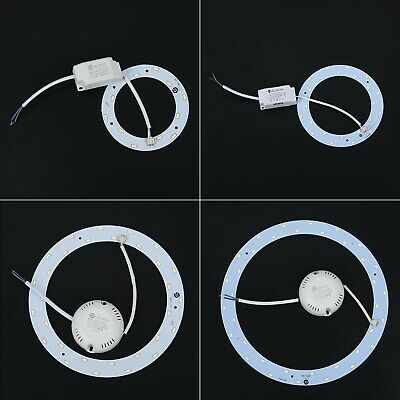 MODULO A CERCHIO 6 LED SMD 5050 RING 40MM//24MM 12V LUCE ROSSA RED 620-620NM