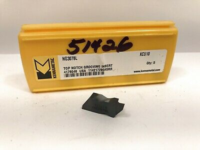 CCMT09T304MP CCMT3251MP KCU10 KENNAMETAL TURNING INSERTS PACK OF 5 3744976