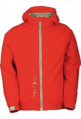 Pro-X Elements Kinder Regenjacke Flashy Art.9728 orange-rot