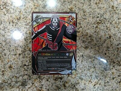 Naruto CCG TCG Card game Hidan N 1382 Rare Lightly Played LP Curse Mode