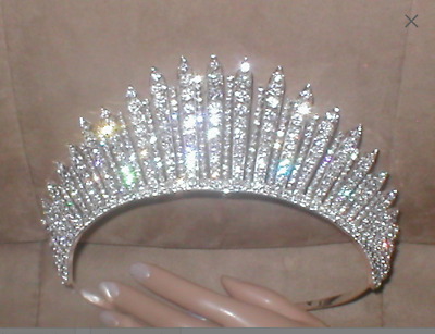 Magnificent Rhinestone Pageant Crown