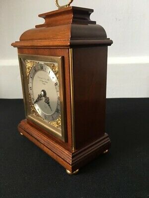 Quality English Vintage Garrard Mantle Clock Elliot Movement