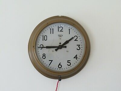 Large Smiths Sectric Wall Clock Wallclock working
