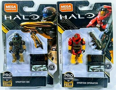 Mega Construx PRO BUILDERS Halo Series 11 LANG GLB60 NEW In Box ODST