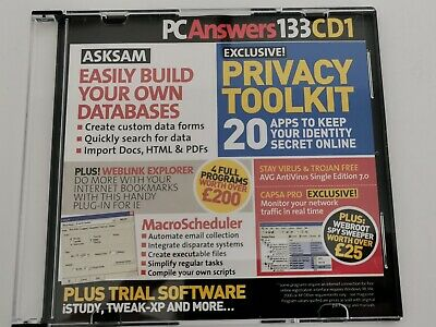 PC Answers Magazine Free Software CD Issue 133