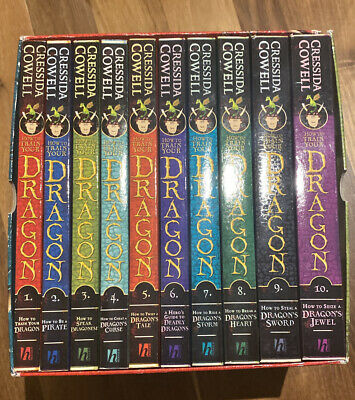 how to train your dragon Book Set