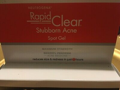 Rapid Clear Stubborn Acne Spot Treatment Gel Medicine With