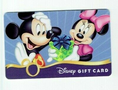 Disney Gift Card Donald Duck w// Foil Sunglasses No Value Castle I Combine