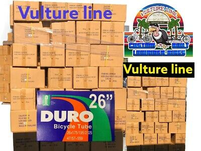 Bicycle Inner Tubes Lot Of 4 26x2.125 Duro Brand Vulture Line