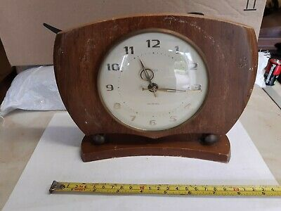 Smiths Sectronic Mantle Clock For Parts Or Repair