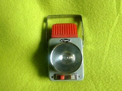 CLIPPER FLASHLIGHT or LANTERN - Older Metal Case with Multi-Position Two Lights