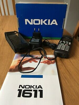Nokia Mobile Phone 1611 Movistar Vintage Boxed With Instructions