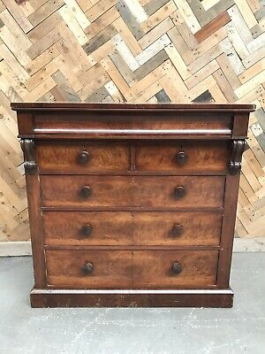 Victorian Large Chest Of Drawers