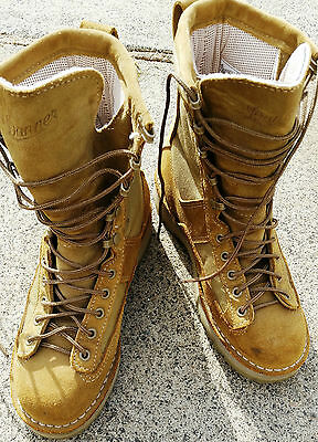 DANNER US NAVY SEALs RANGERS SPECIAL FORCES TACTICAL COMBAT BOOTS COYOTE BROWN