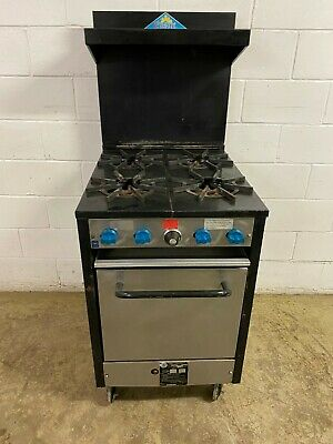 Castle 4 Burner stove With Oven Natural Gas Model C318 Tested