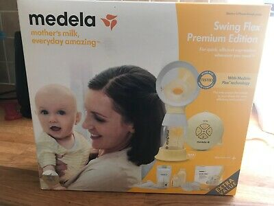 Medela Swing Flex Premium Edition, used once purchased May 2020