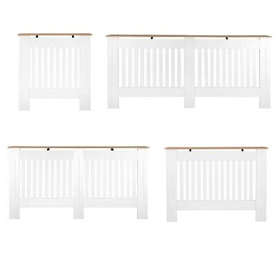 Radiator Cover White Traditional Modern Cabinet Wood Top Shelf Grill Furniture