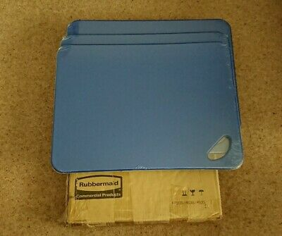 Rubbermaid Commercial chopping board Colour co ordinated BLUE - NEW x 3