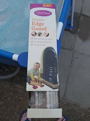 Cleva Mama Fireplace Edge Guard - Home Baby-Proofing Sharp Edges Corner Protect
