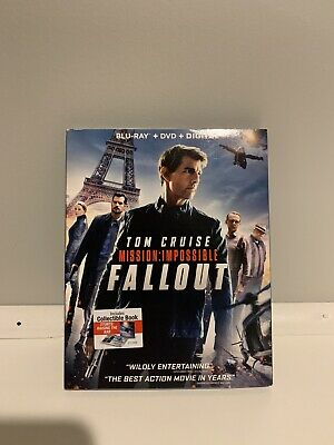 Mission: Impossible Fallout - Blu-Ray + DVD + Digital - 3 Disc Set